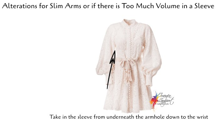 The Best Clothing Alterations Based on Your Body Shape - slim arms