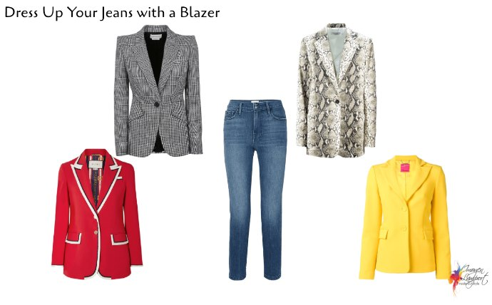 Add a blazer this winter to your casual outfits for a professional and stylish edge