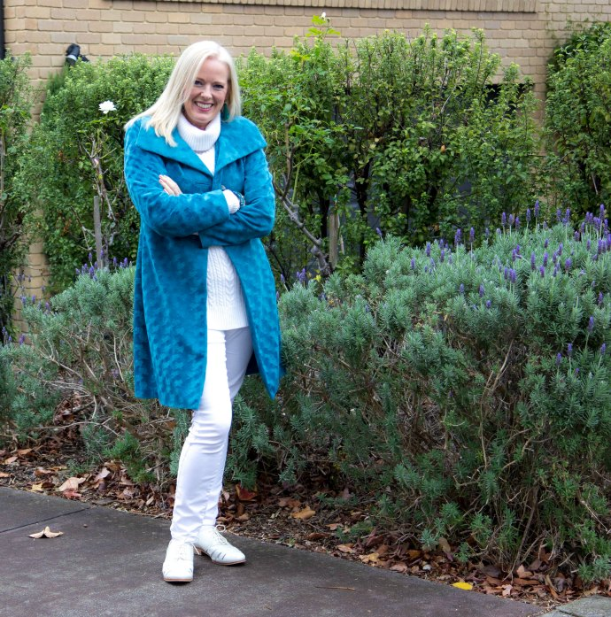 Update your winter wardrobe with a coloured coat