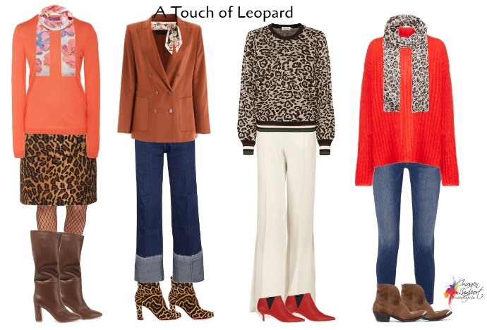 Add some leopard print to update your winter wardrobe