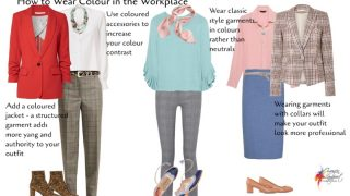 ways to wear colour in the professional workplace