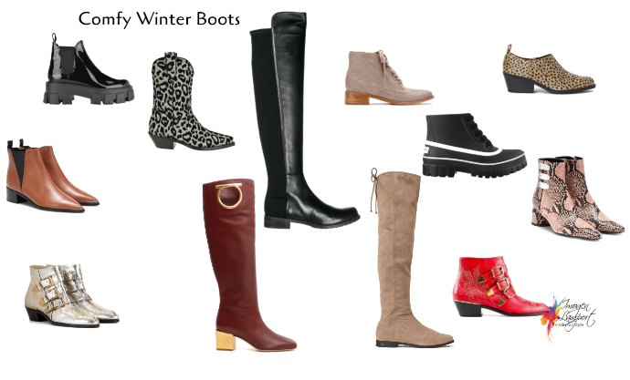 Comfortable boots are a winter wardrobe staple