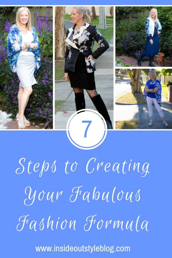 7 Steps to Creating Your Fabulous Fashion Formula
