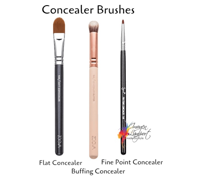 What makeup brush is that - concealer brushes explained
