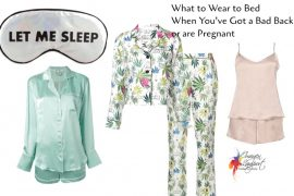 what to wear to bed back back or pregnant