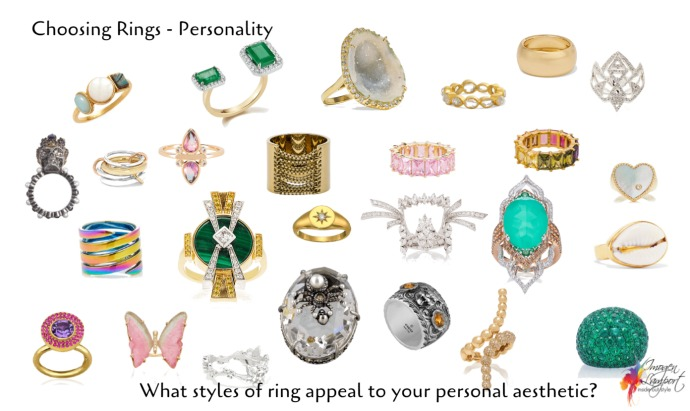 choosing rings - which speak to your personal style aesthetic?