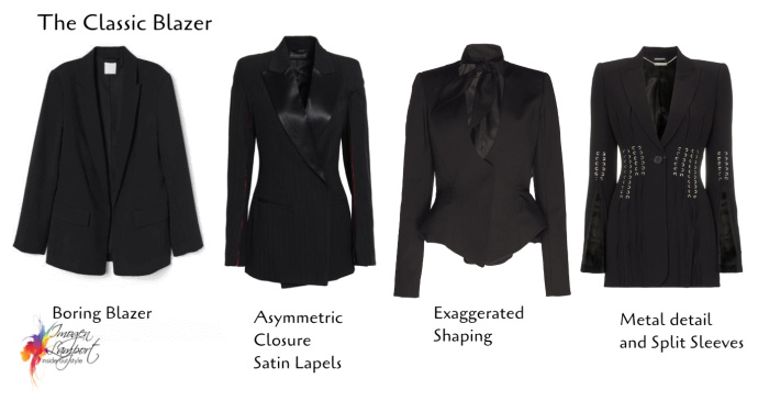Taking the Classic Blazer and turning it into something more interesting and exciting