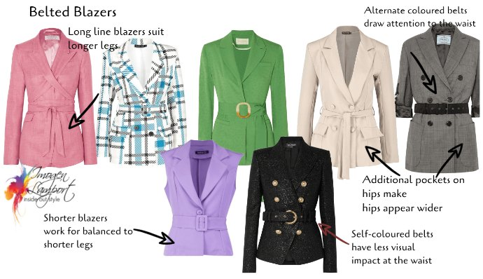 Belted blazers - how to decide if this trend is for you and styling tips