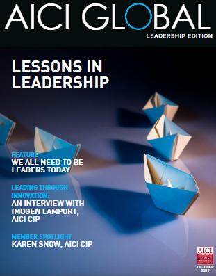 Imogen Lamport interview in AICI Global Magazine