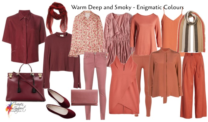 Enigmatic warm and muted colours