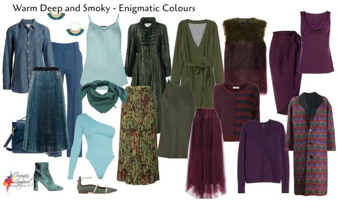 Enigmatic - smoky warm deep colours
