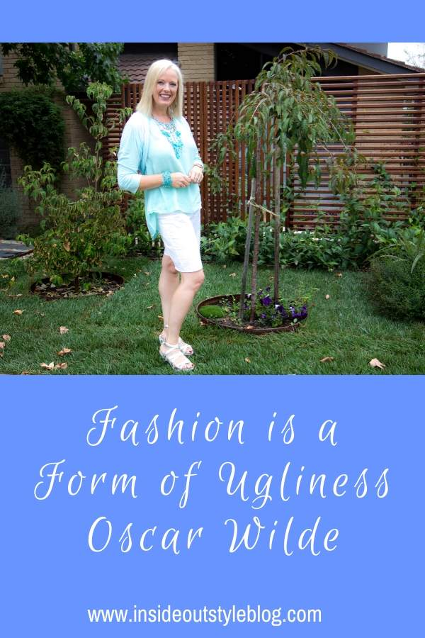 Fashion is a Form of Ugliness