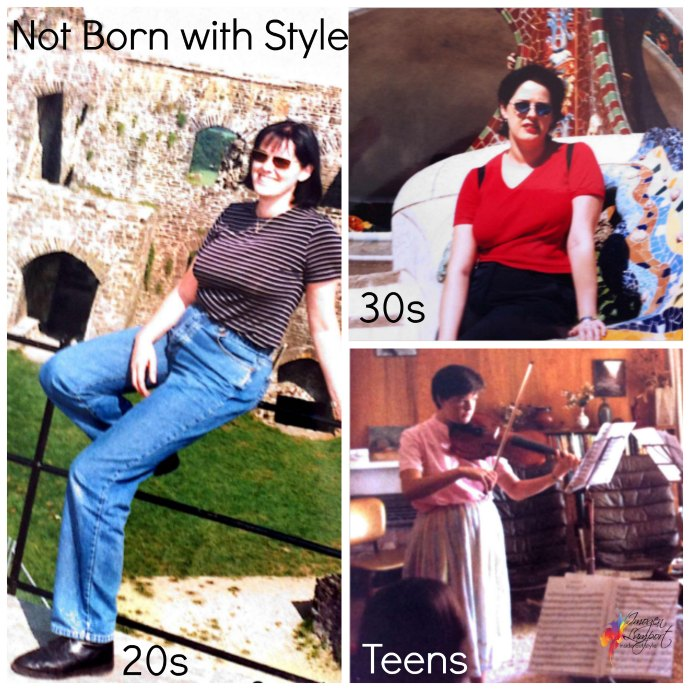 You can learn to be stylish - I was not born with style