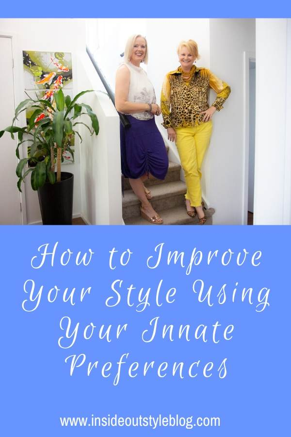 How to Improve Your Style using Your innate psychological preferences