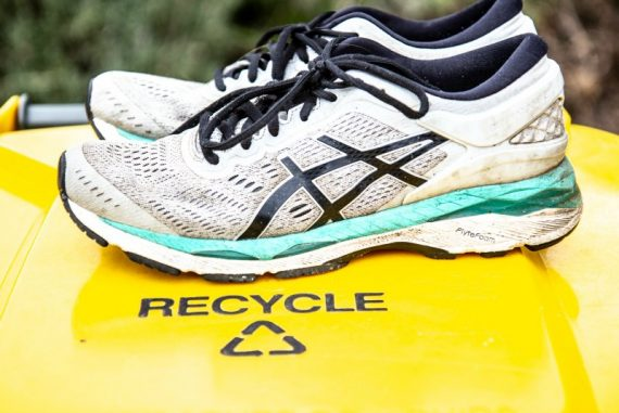 recycle your old sneakers