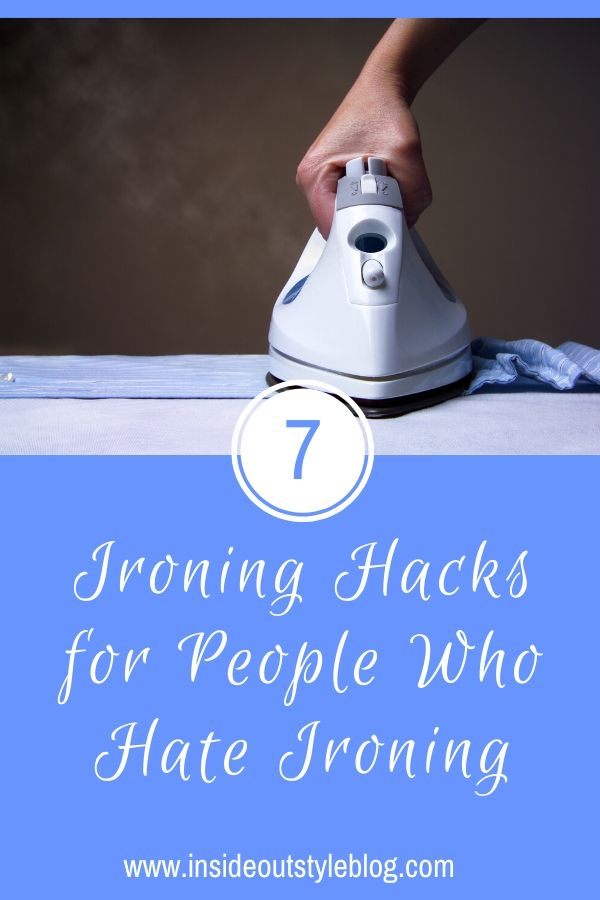 7 Ironing Hacks for People Who Hate Ironing