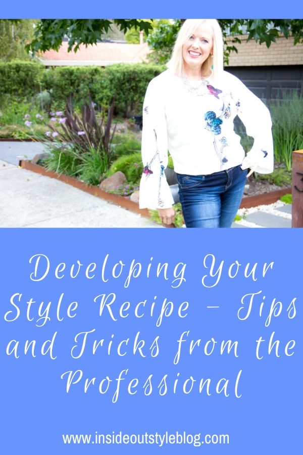 Developing Your Style Recipe - Tips and Tricks from the Professional