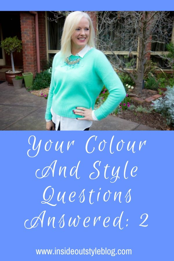 Your Colour and Style Questions Answered 2: - Videos