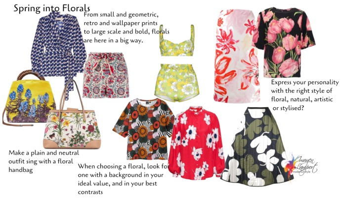 Spring Fashion Trends and How to Wear Them - floral patterns