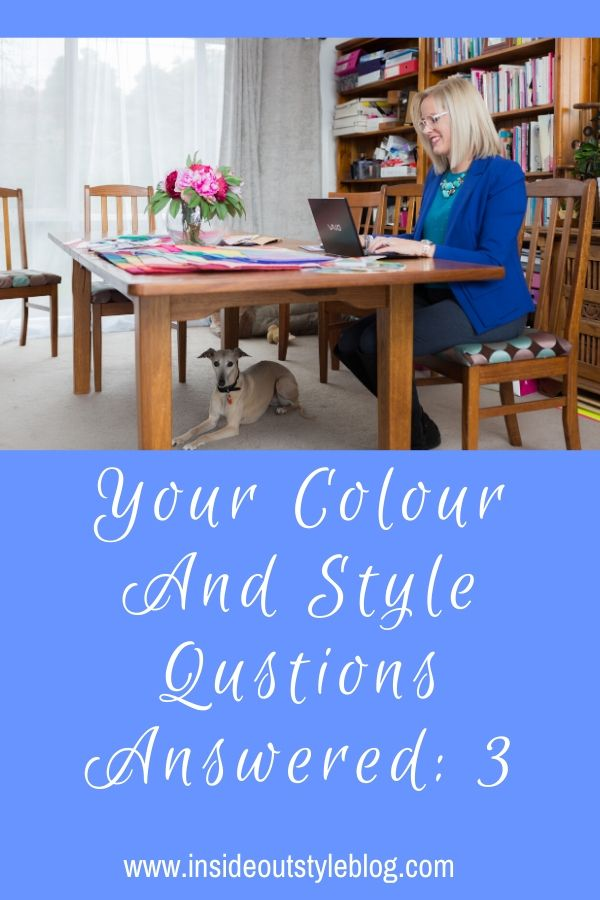Your colour and style questions answered with Imogen Lamport