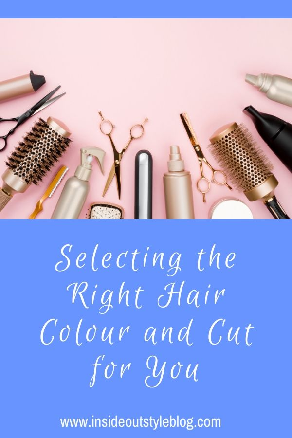 Selecting the Right Hair Colour and Cut for You