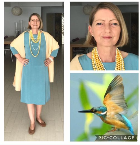 Kingfisher Inspired Outfit Combinations