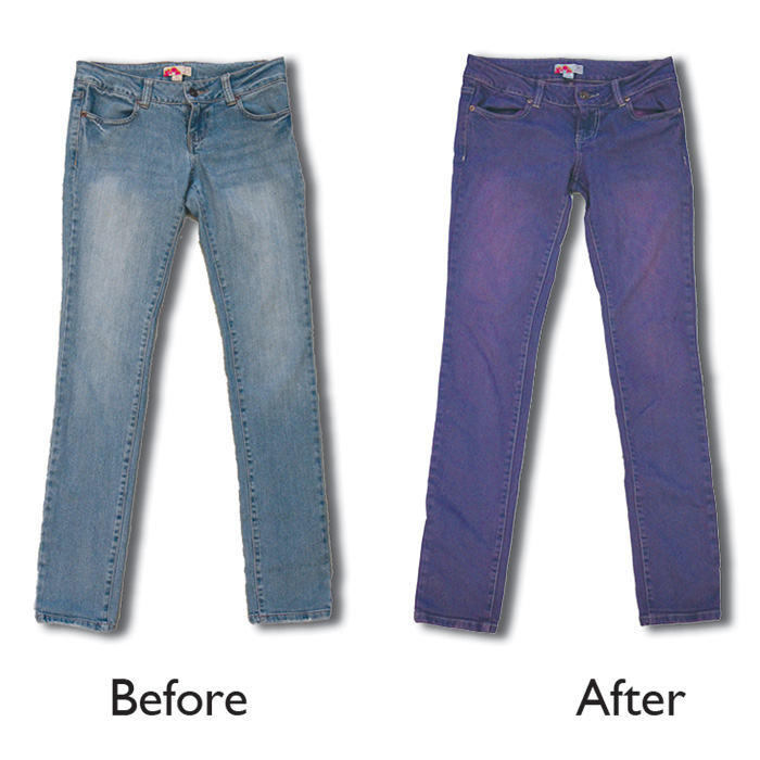 how to overdye your denim