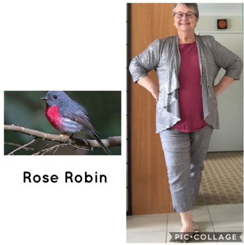 Bird - Rose Robin - Inspired Outfit Combinations