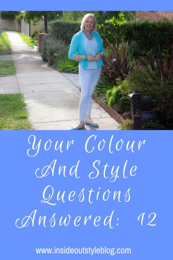 Your colour and style questions answered by globally award winning image consultant Imogen Lamport