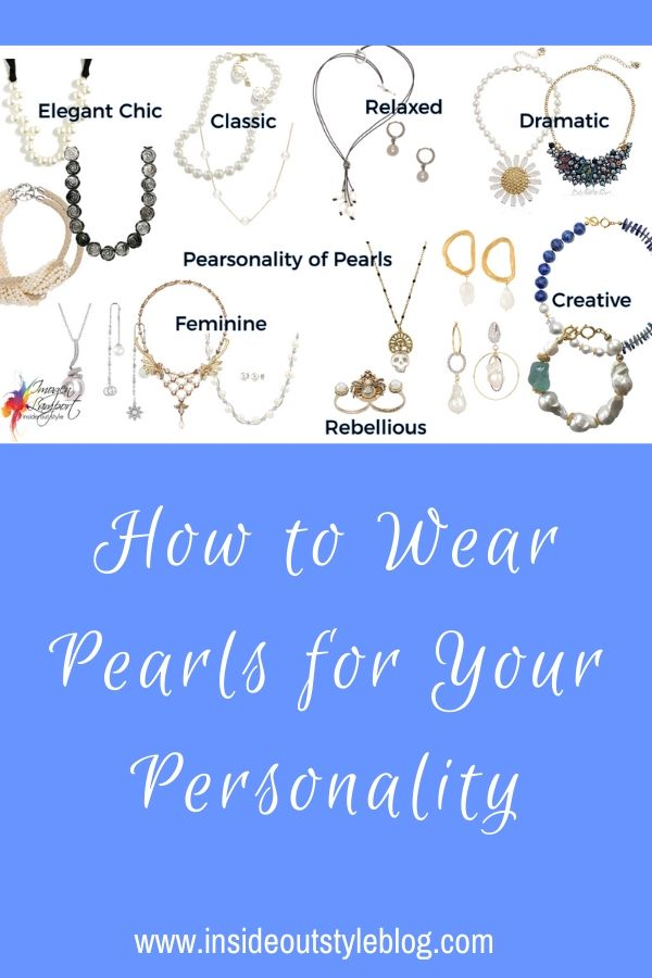 How to Wear Pearls for Your Personality