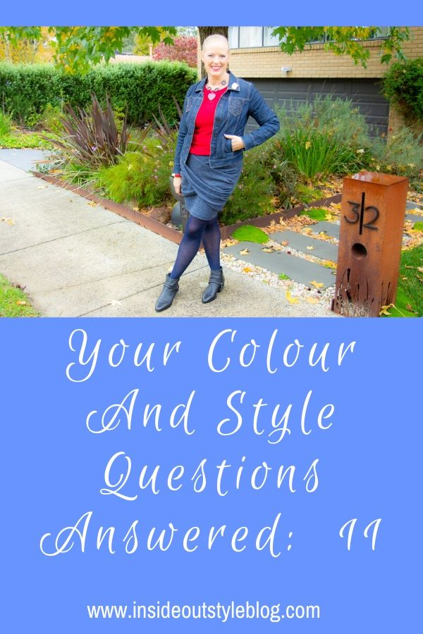 Your colour and style questions answered in videos