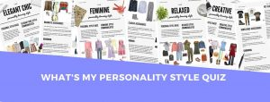 what's my personality style quiz cover