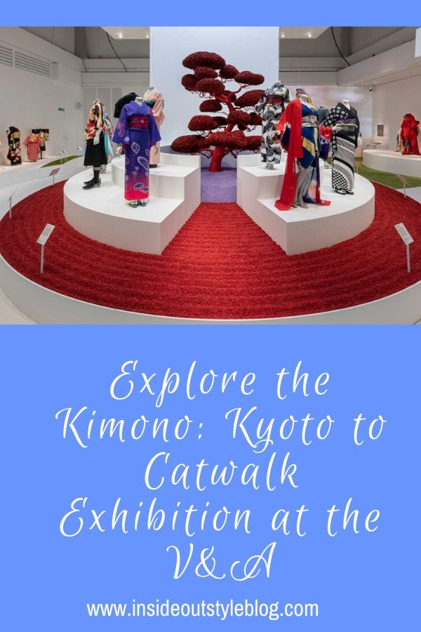 Explore the Kimono: Kyoto to Catwalk Exhibition at the V&A