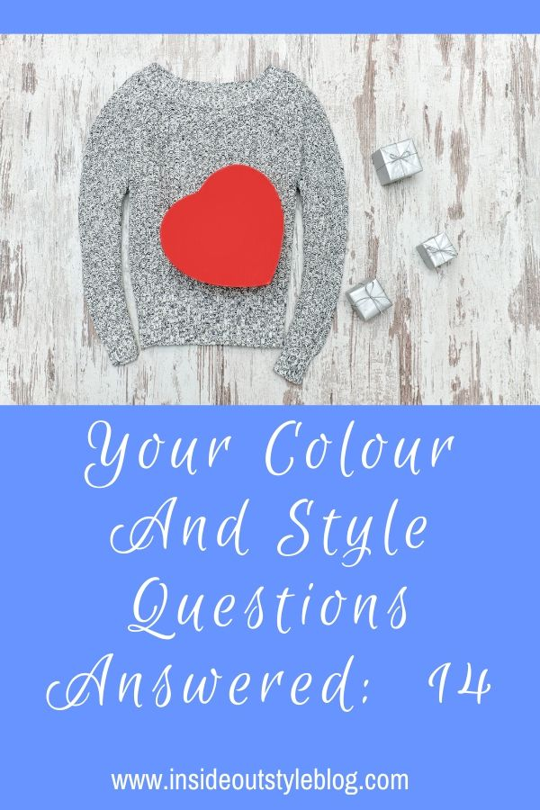 Colour and Style Questions answered by globally certified image consultant Imogen Lamport