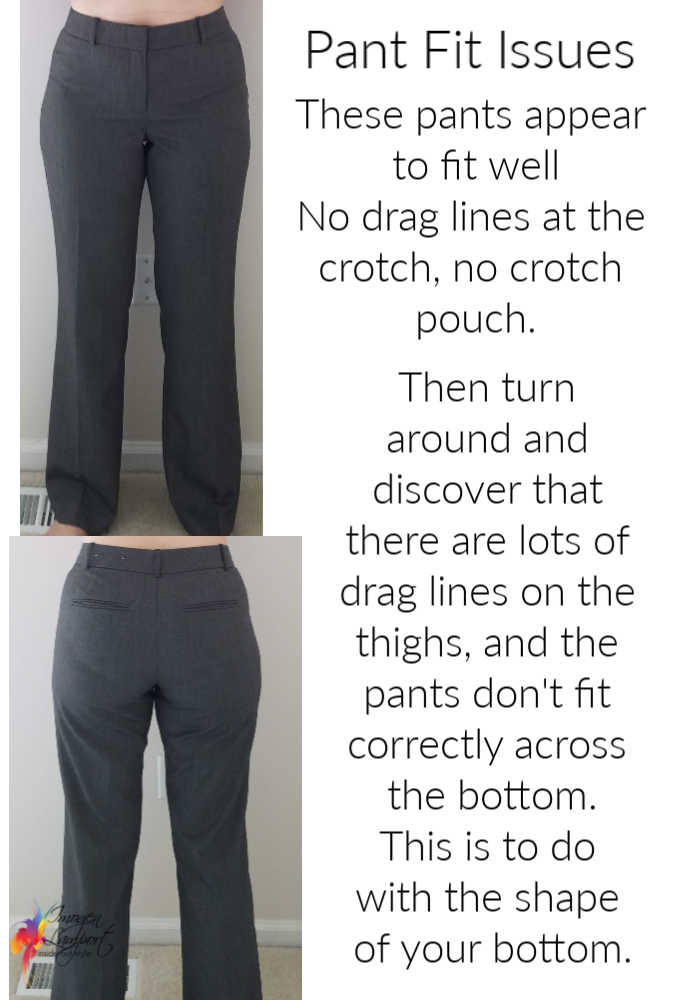 Why pants are so hard to fit - fitting tips for trousers