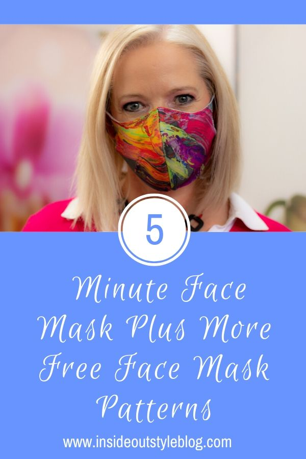 5 Minute Face Mask Plus More Free Face Mask Patterns