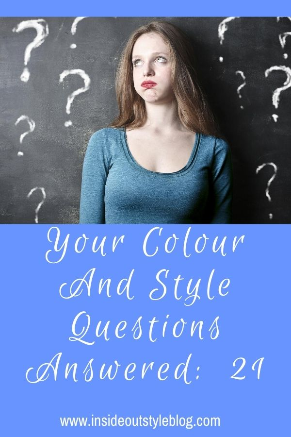 Colour and Style Questions