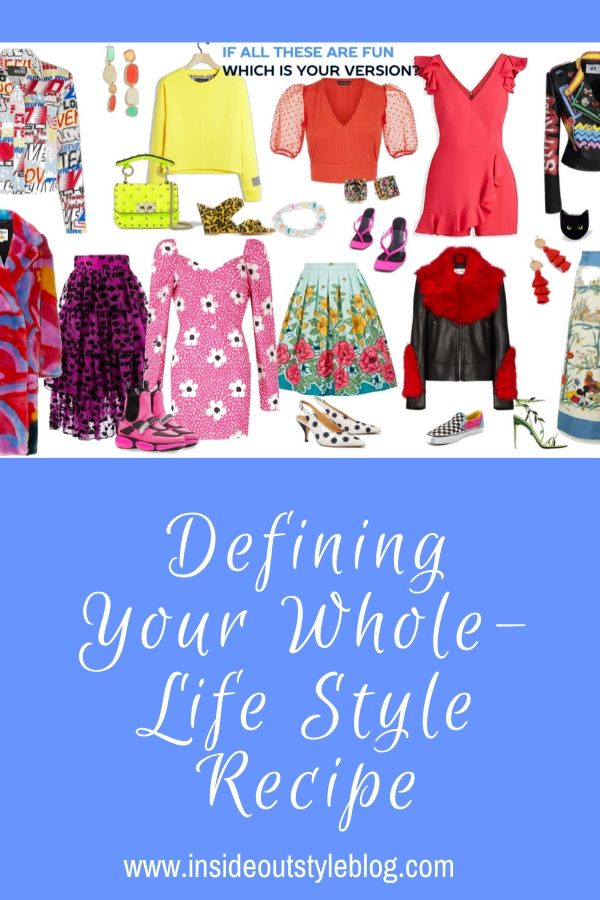 Defining Your Whole-Life Style Recipe