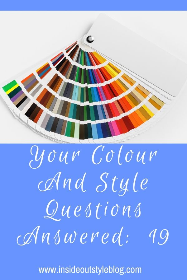 colour and style Q&A 19 - universal colours, choosing a hair colour going grey, building a scarf wardrobe plus more colour and style tips from Image consultant Imogen Lamport