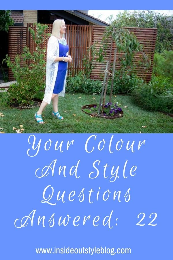 more on column of colour and lots of other colour and style questions answered