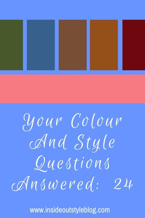 What goes with coral and how to choose the right grey plus more colour and style questions answered on video by Imogen Lamport
