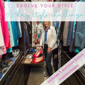 Evolve Your Style fashion challenge