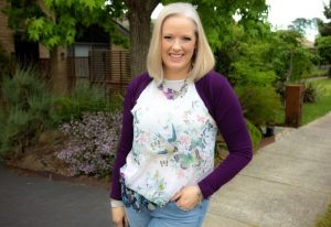 How to throw on an outfit in minutes and have nailed it - floral butterfly top ted baker and jeans