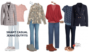 Smart casual jeans outfits