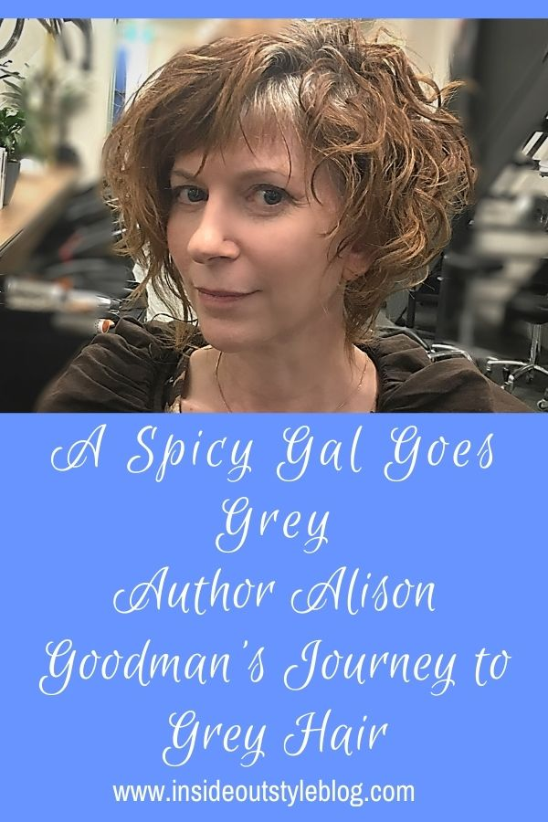 A journey to grey hair with author Alison Goodman