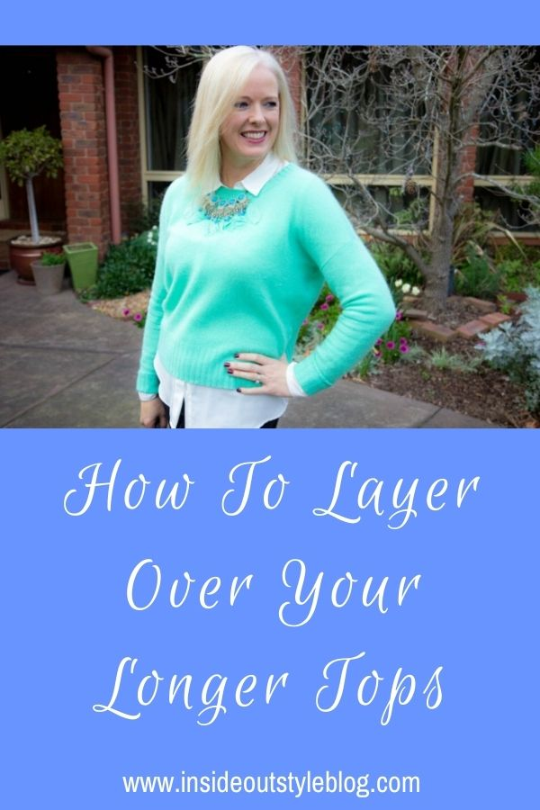 Tips for layering over your longer tops
