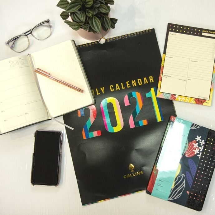 Diaries and planners from Collins to get organised