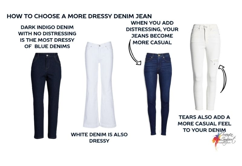 How to choose the most dressy denim