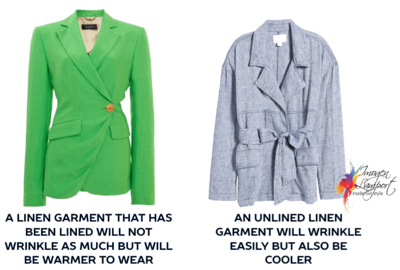 Choosing linen garments