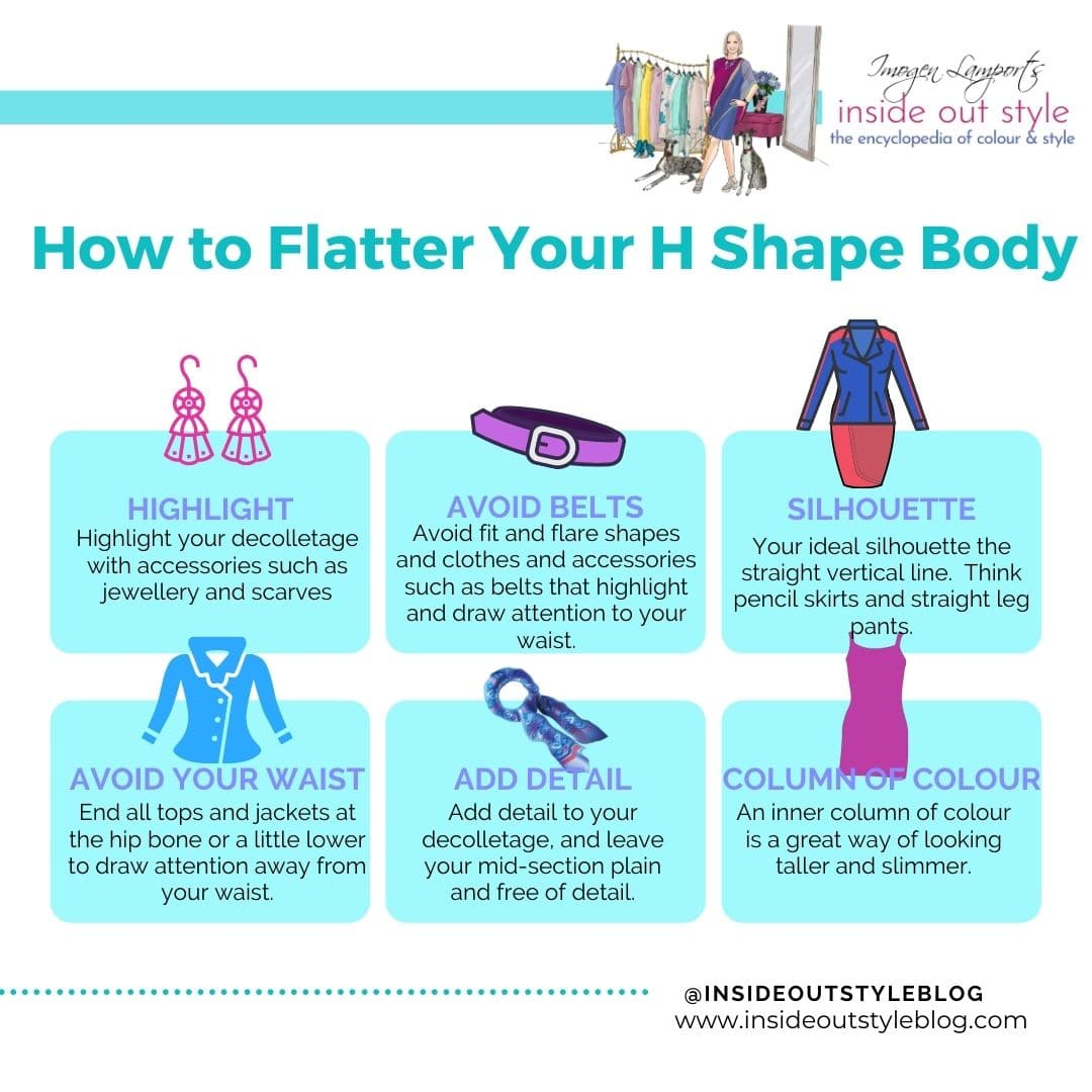 How to flatter your H shape body